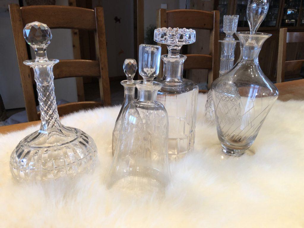 Vaisselle et accessoires vintage chiné par Les Réceptions de Célestine