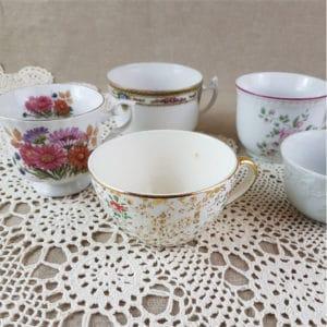 Tasses à thé vintage
